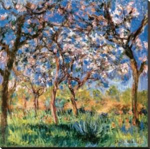 Spring in Giverny, Claude Monet