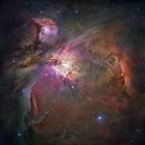 Hubble's sharpest view of the Orion Nebula. (This has nothing to do with Mars.)